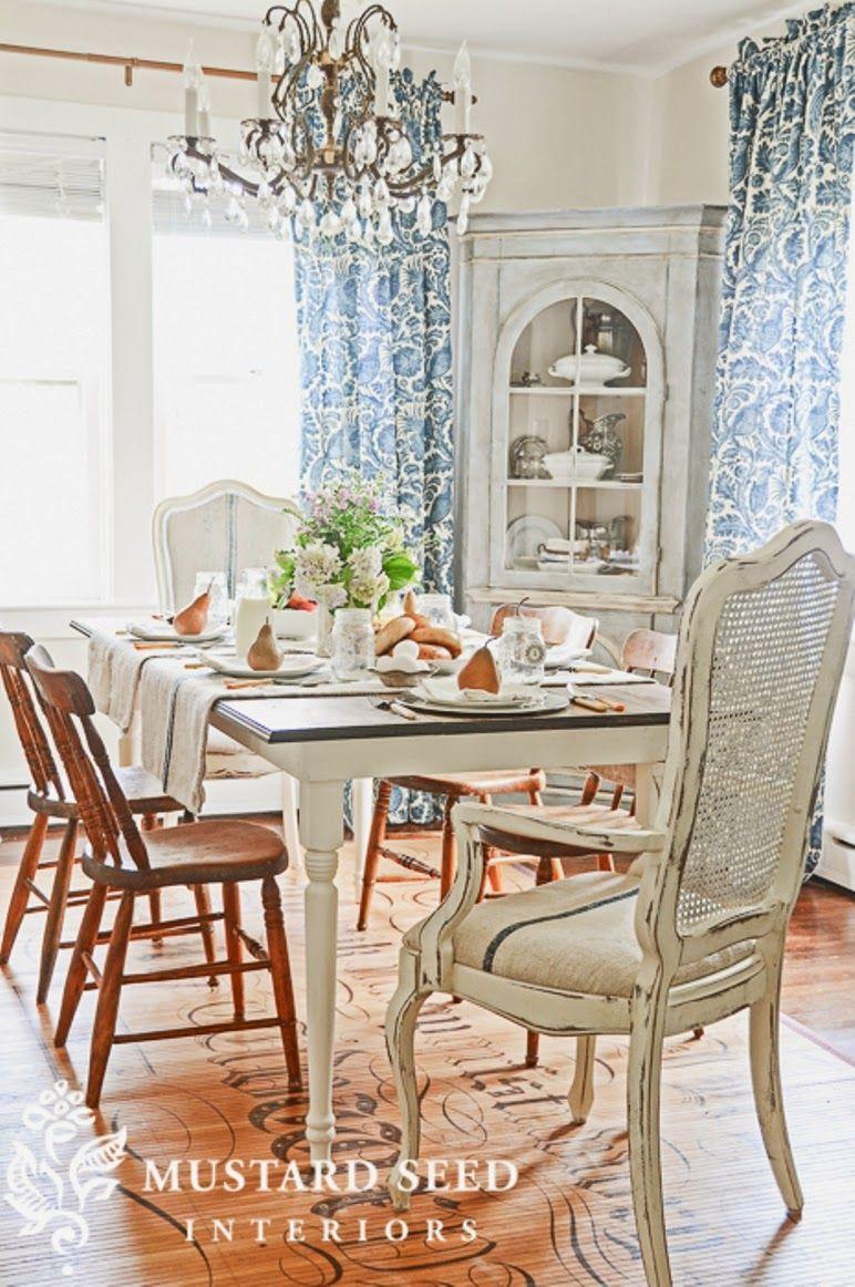 Antic&Chic. Decoración Vintage y Eco Chic: [DIY] Cómo hacer una mesa de comedor estilo Country Chic