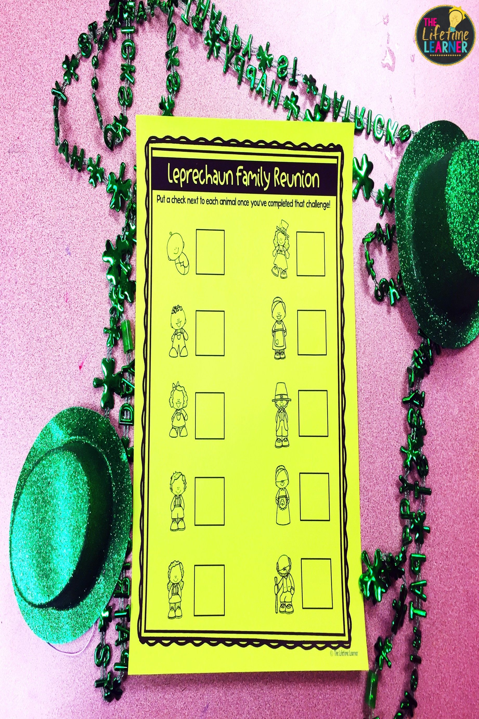 Saint Patrick S Day Classroom Transformation