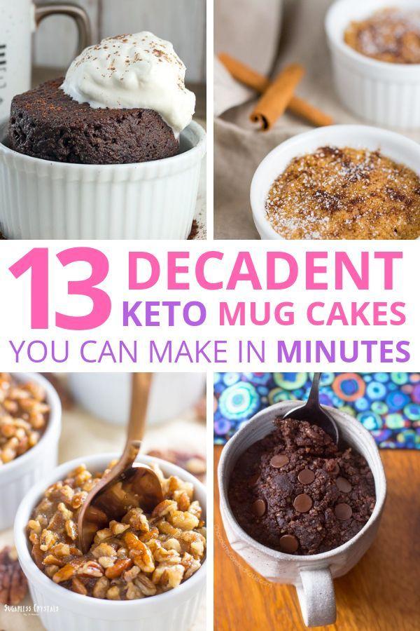 13 Easy Keto Mug Cake Recipes | Mug recipes, Keto mug cake ...
