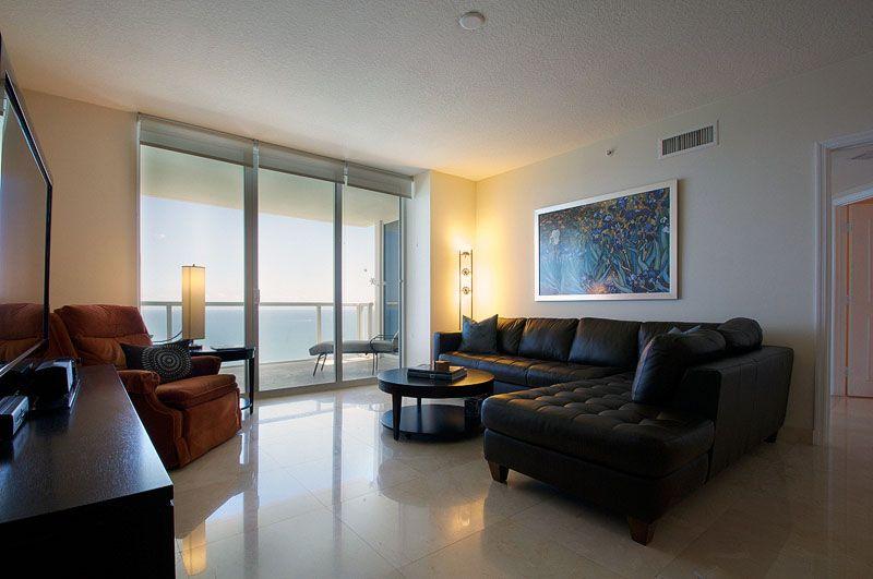 House · LaPerla Condo Miami Living Room