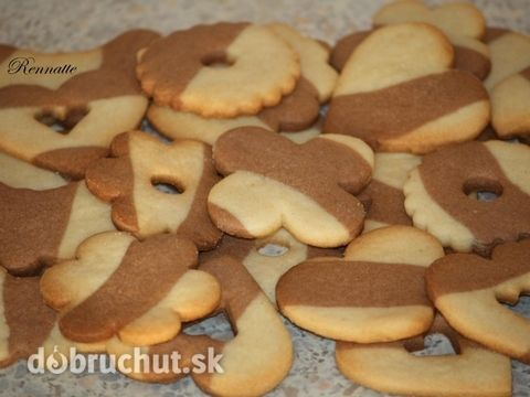 Fotorecept: Dúhové sušienky