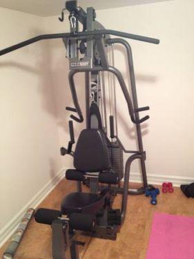 life fitness parabody gs4 home gym  home gym used