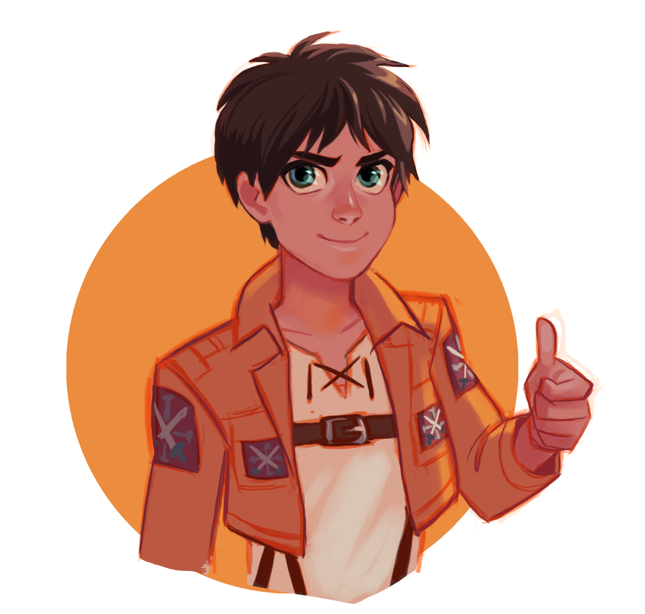 I've been watching Attack on Titan and it is good. Follow