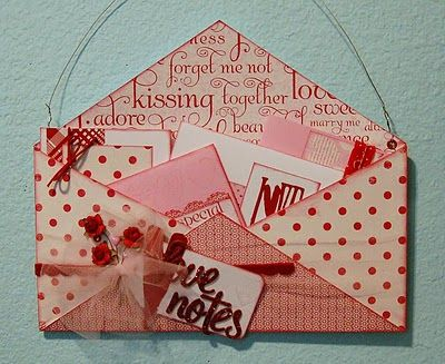 what a wonderful way to share little notes all month/year long!