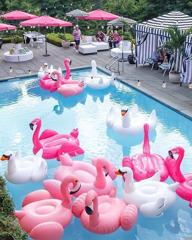 WEBSTA _envytations How cool does this Summer Pool Party