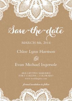 snap fish save the dates burlap and lace weddings 3 pinterest