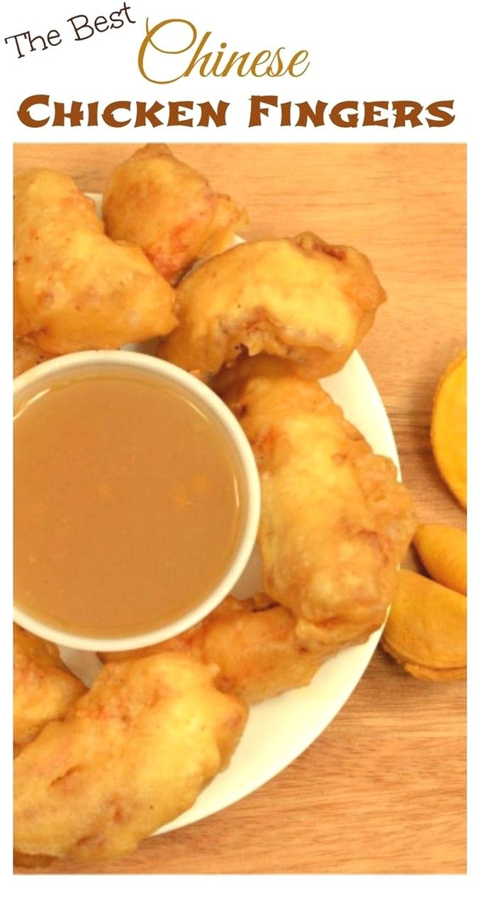 Chinese Chicken Fingers Recipe Easy Chinese Recipes Chinese Chicken Chinese Chicken Recipes
