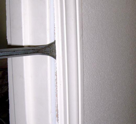 How to Fix or Replace a Broken Door Frame | REPAIRS | Pinterest ...