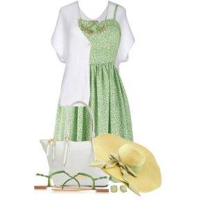 Casual Dress & Cardigan