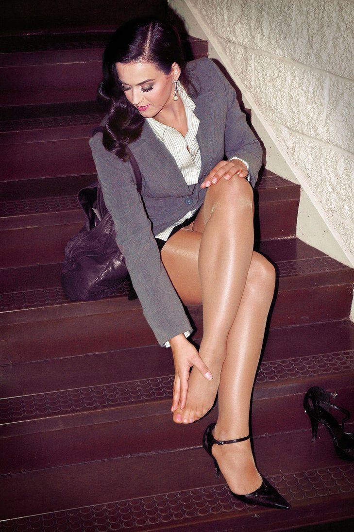 image Brit in stocking enjoying lesbian sex
