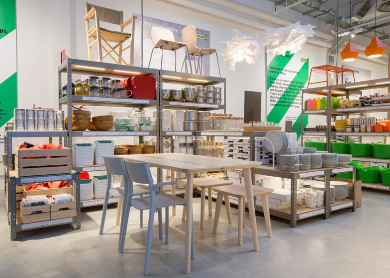 Ikea Temporary Presents Kitchen Concepts At Milan Pop Up For The