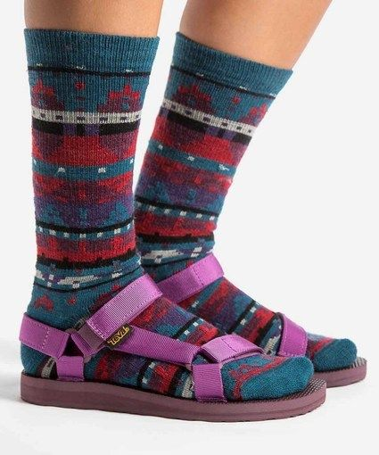 best cheap e1241 1415e Women s Original Universal Woolrich Socks   Sandals Set II in Fig by  WOOLRICH® The Original Outdoor Clothing Company