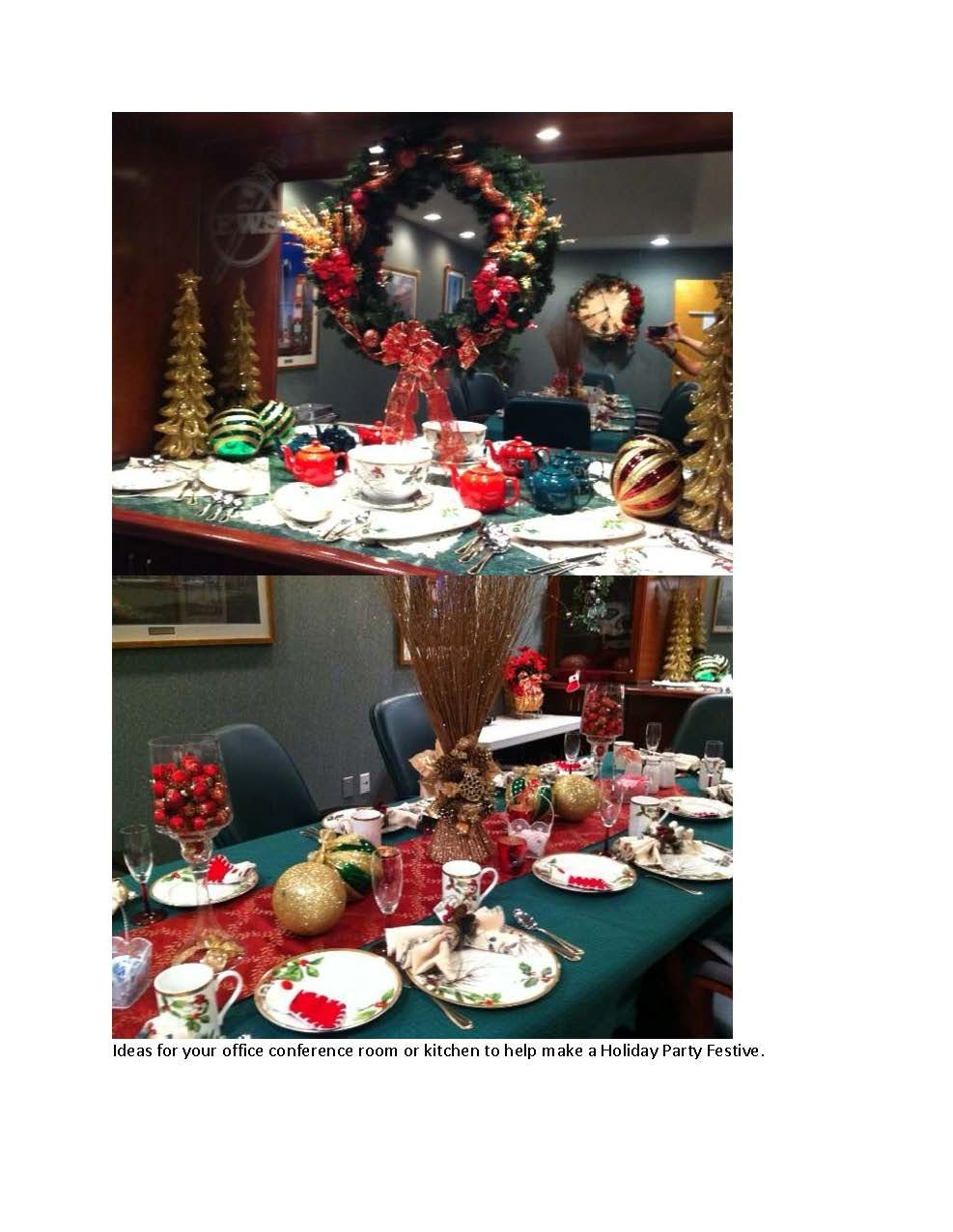 Decorating Ideas > Some Ideas To Turn Your Office Conference Room Or Kitchen  ~ 091232_Christmas Decorations For An Office Party