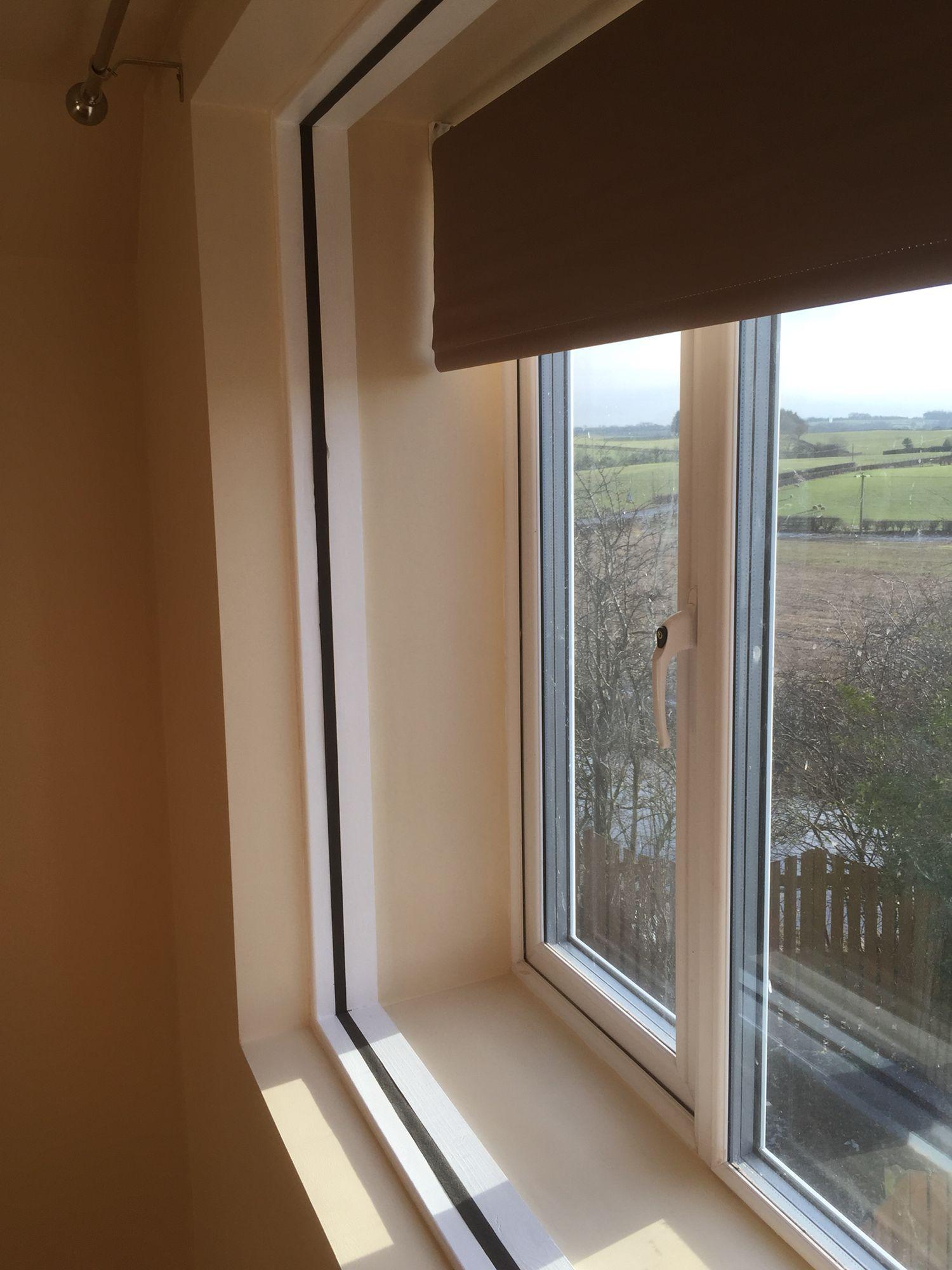 Window Detail In Soundproofing Room Within A Room · Home Music StudiosSliding  Door