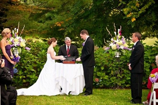 Love Letters And Wine Wedding Ceremony 550x365 Unique