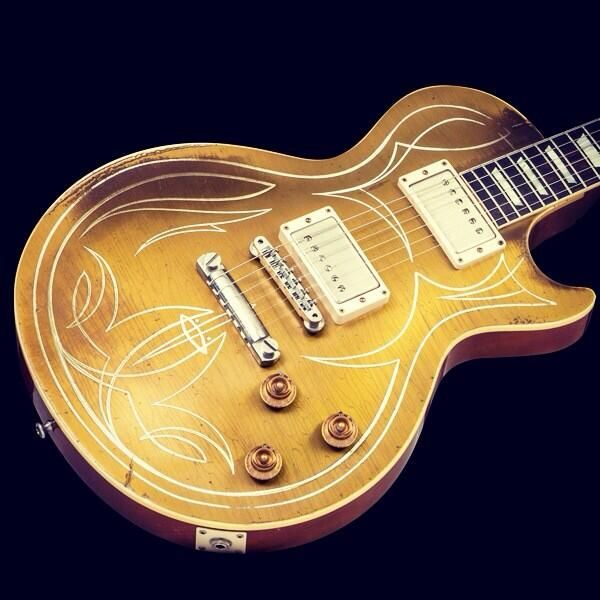 Meet the new Billy F Gibbons Les Paul Goldtop