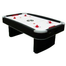 Harvard G03509w Action Arena 7 Foot Air Hockey Table Air Hockey Air Hockey Table Break Room