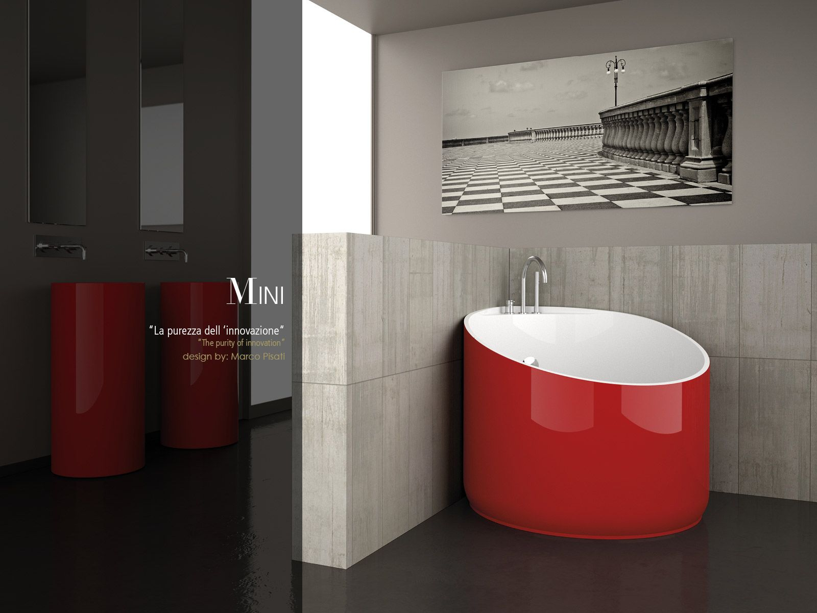 Vasca Da Bagno Mini : Small corner bathtub mini from da vinci tuscany brand
