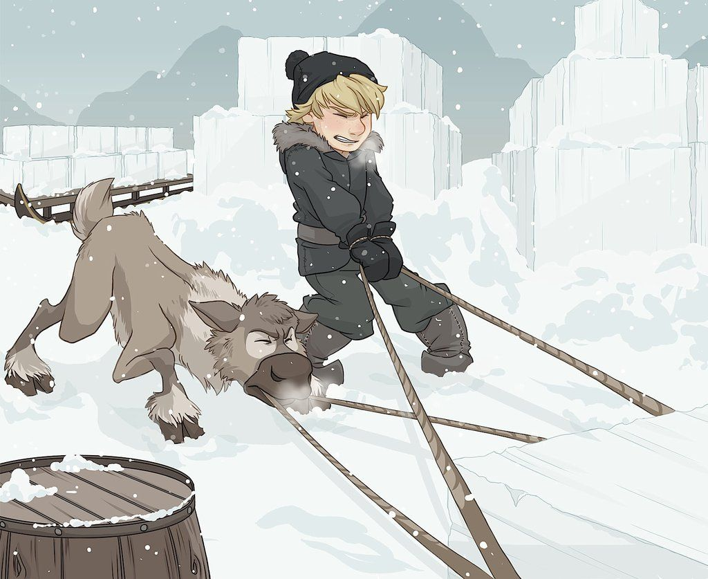 Teamwork - Kristoff and Sven by xxMeMoRiEzxx.deviantart.com on @deviantART