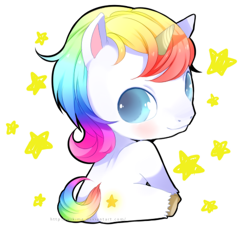 Kawaii Unicorns On Pinterest Unicorns Kawaii And Rainbow