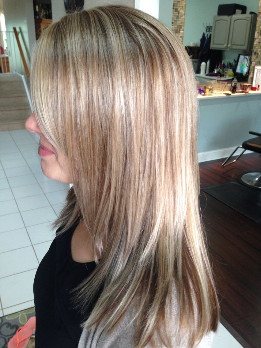 Highlights Amp Lowlights On Blond Hair Highlight Formula