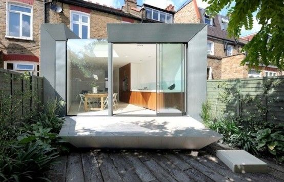 This stylish modern extension of Edwardian terrace house in London ...