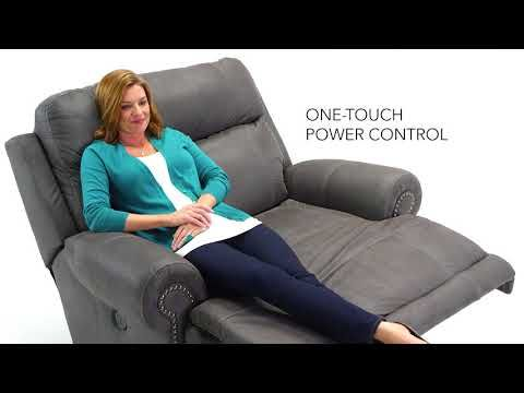 Austere   Gray   Zero Wall Power Wide Recliner | 3840182 | Recliners | Kenu0027s  Furniture