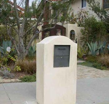 Oasis Locking Column Mailbox Standard Size | Column