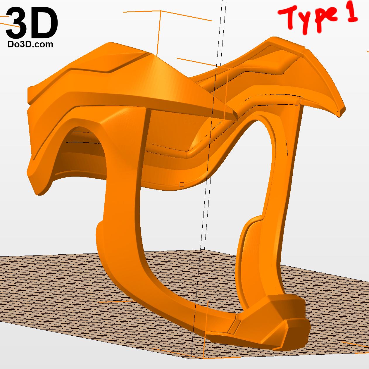 3D Printable Model: Superman Injustice 2 Helmet Crown Head