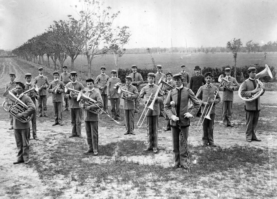 We've come a long way, Baby! The Texas A&M band circa 1901