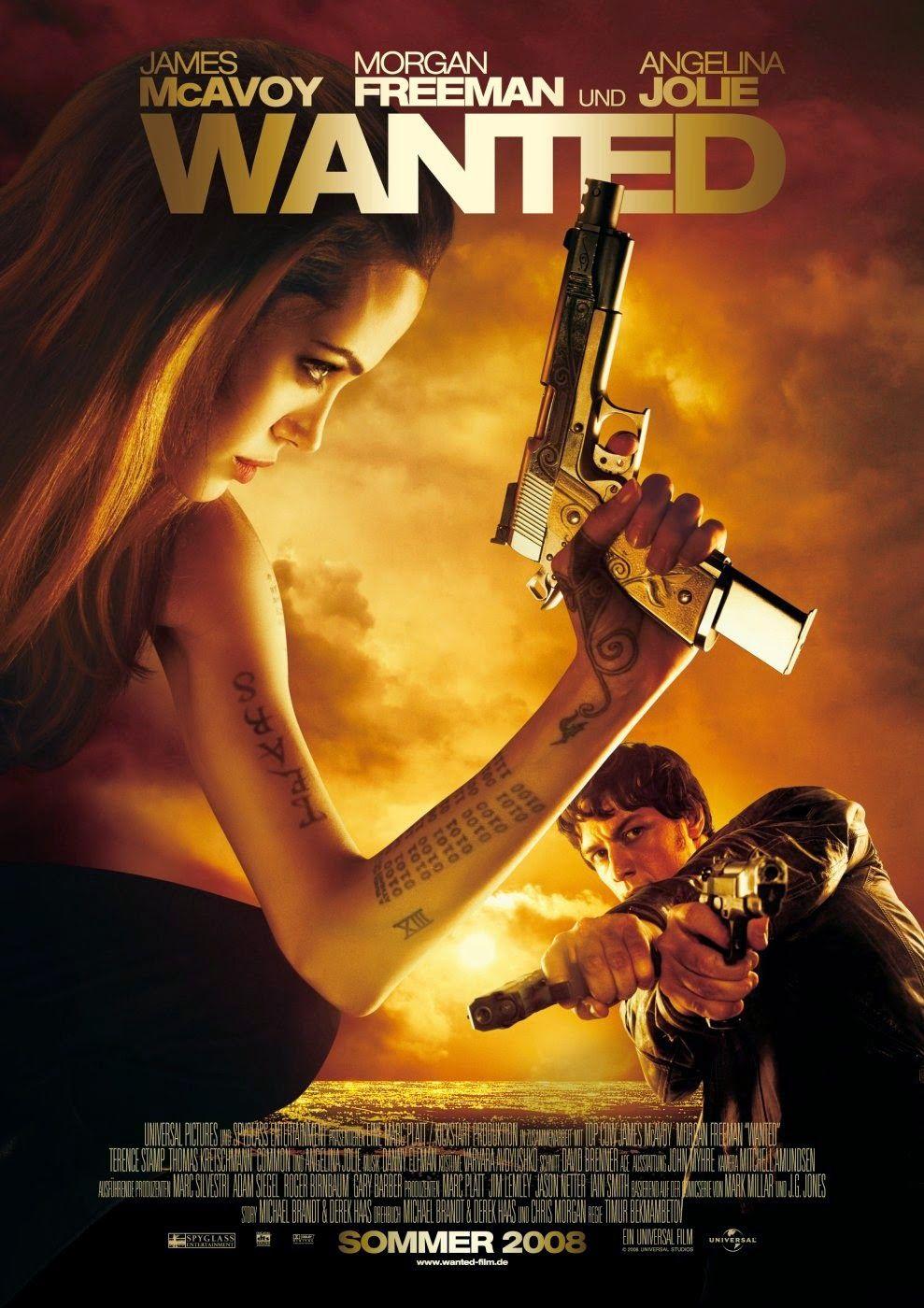 Wanted 2008 A Lifetime Of Bad Habits Filmes De Acao Dublado