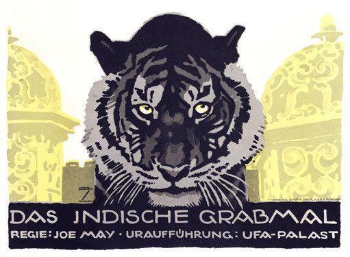 Das Indische Grabmal By Ludwig Hohlwein Fine Art Print