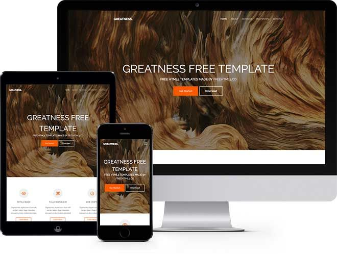 oxygen free website template using bootstrap free responsive
