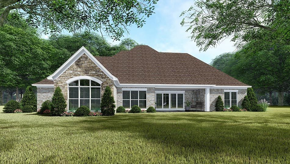 House Plan 5078 Crescent Manor French Country House Plan