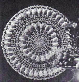 Free Crochet Magnolia Flower Pattern : free crochet magnolia blossom doily pattern Crochet ...