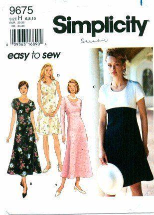 Simplicity 9675 Sewing Pattern Misses Dress Size 6 - 10 -... http://www.amazon.com/dp/B003UDYLFO/ref=cm_sw_r_pi_dp_utphxb1BSYH0F