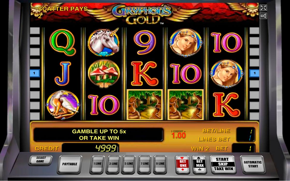 Игровой автомат gryphons gold online