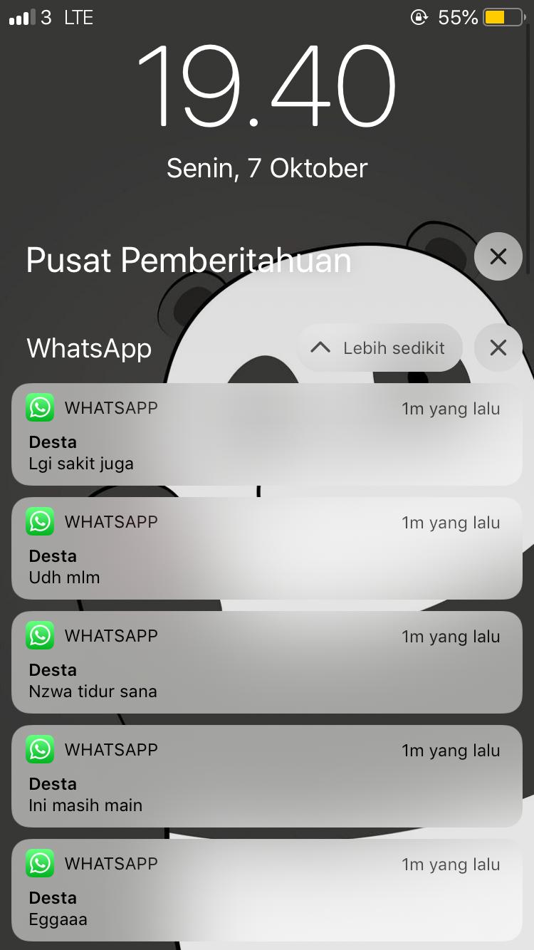 Notif Chat Teks Romantis Teks Lucu Gambar Kehidupan