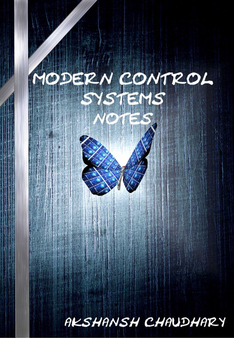 Modern control system notes - Akshansh by Akshansh Chaudhary