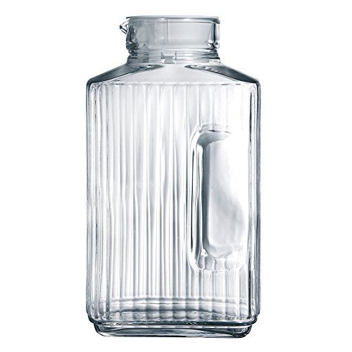 Luminarc Quadro 2-Liter Glass Pitcher with Lid Luminarc http://www.amazon.com/dp/B0013Z9NY0/ref=cm_sw_r_pi_dp_apVHwb1R0TTG2
