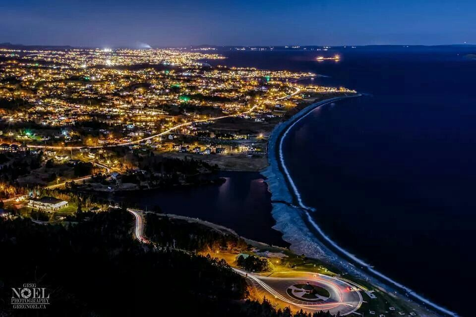 Beautiful By Night Conception Bay South Newfoundland 3 Canada