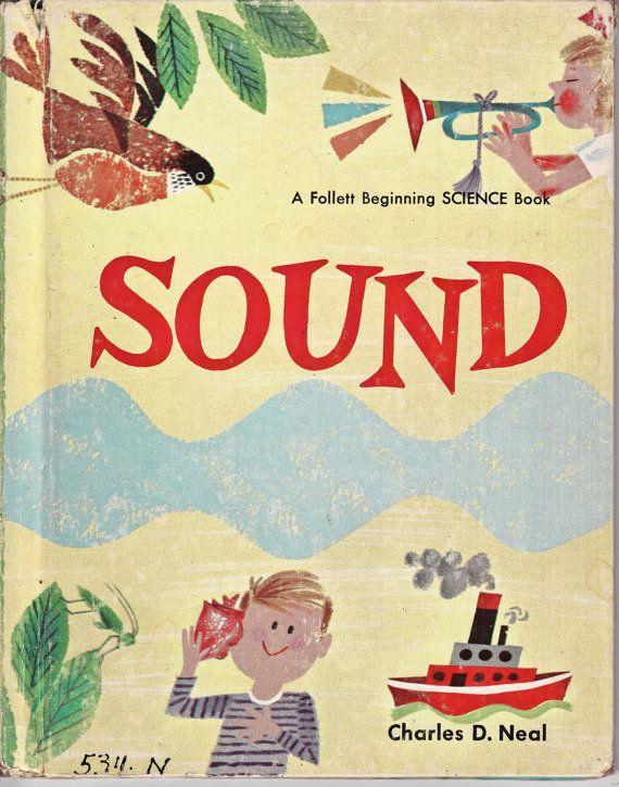 Vintage Children's Science Book Sound