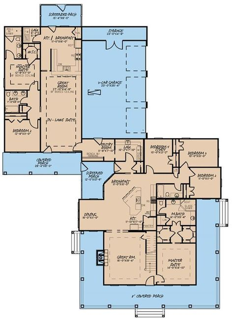 I Really Love This House With Separate In Law Suite Dream