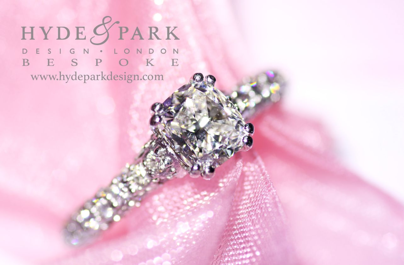 Marquise illusion setting diamond #engagement #ring custom made by ...