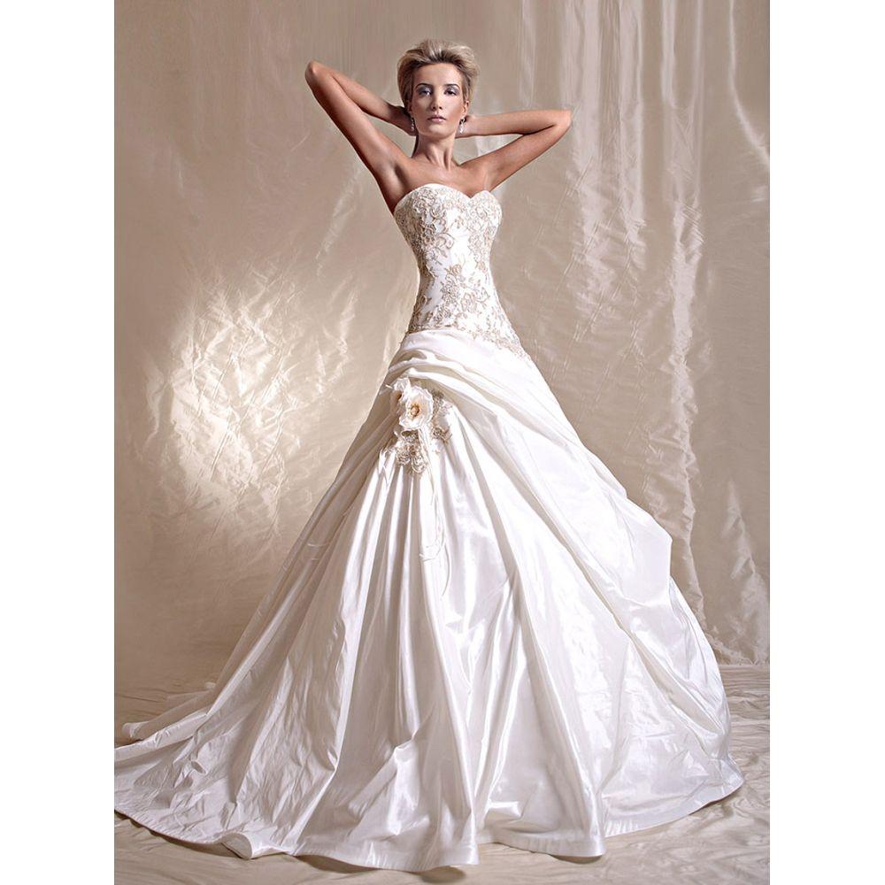 my dream wedding dress | glamorous wedding dresses – glamour wedding ...
