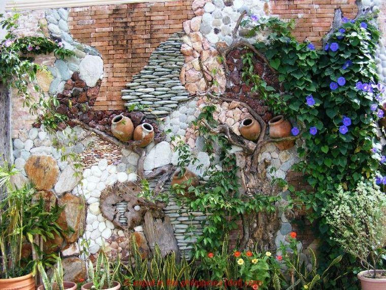 las fachadas los muros y las paredes de exterior son a menudo elementos que dejamos