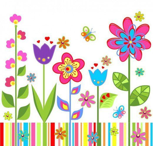 Multicolored Spring Flowers Bloom Where You Re Planted Flowers