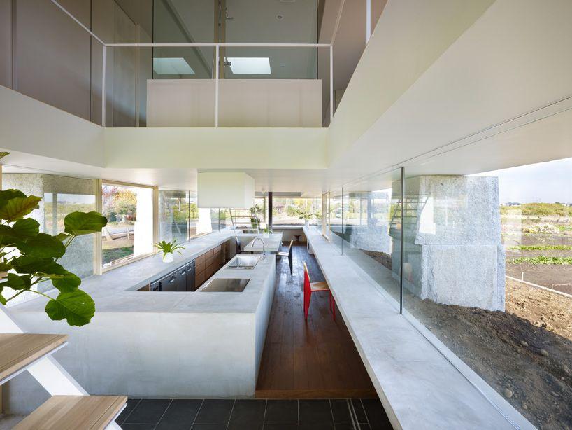 MODERN SLEEK HUGE KITCHEN   Behind the Curtains - Huge Fridge Cools Modern Kitchens
