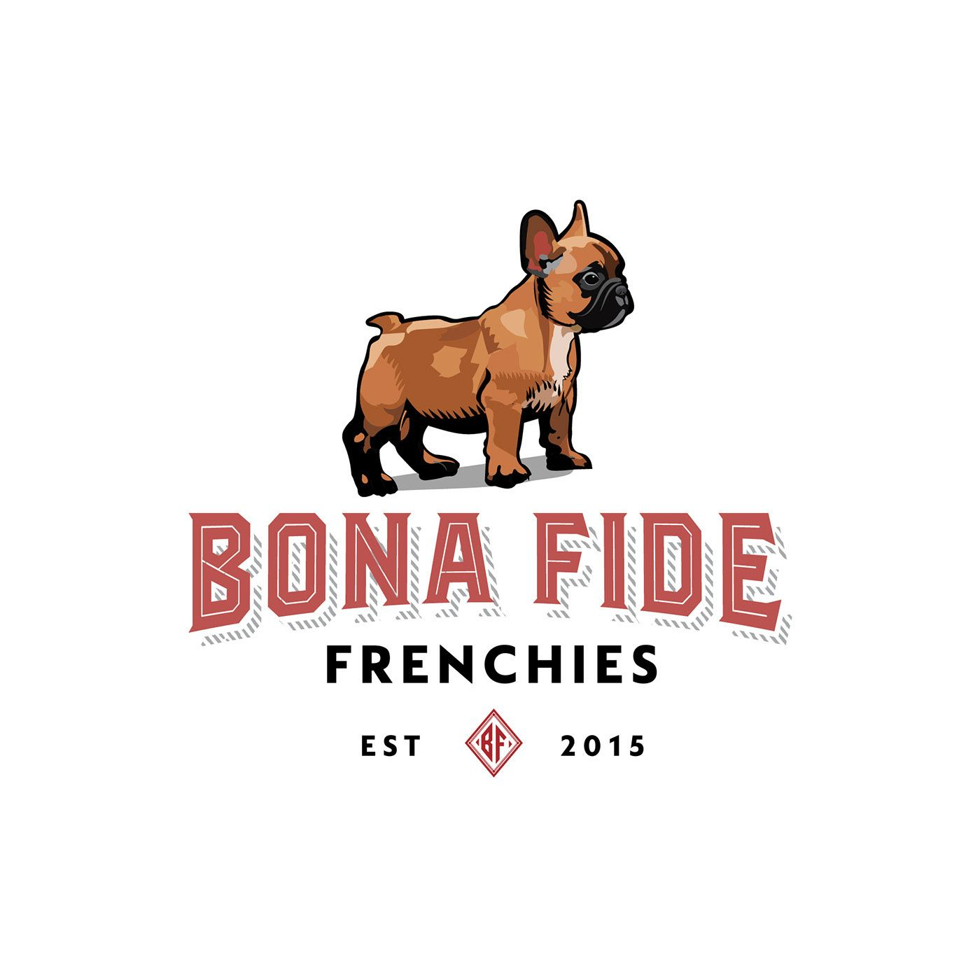 Logo Design Logo For French Bulldog Breeder Logodesign