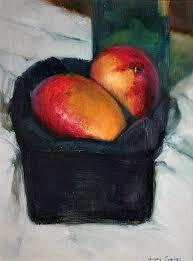 Image result for modern 20th century painters still life fruit mango